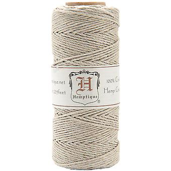 Hemp Cord Spool 20# 205 Feet Pkg Natural Hs20na