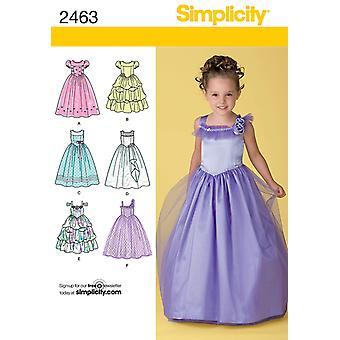 Simplicity Child Special Occasion 3 4 5 6 U02463aa