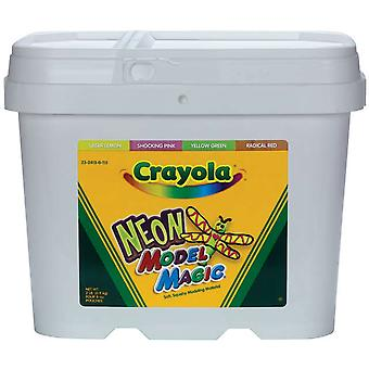 Crayola Model Magic 2 Pound Tub Neon 23 2413