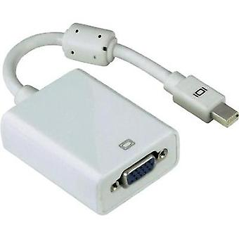 DisplayPort / VGA Adapter [1x Mini DisplayPort plug - 1x VGA socket] White incl. ferrite core Hama