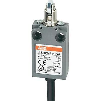 Limit switch 400 Vac 5 A Tappet momentary ABB LS21P14B11-P01 IP67 1 pc(s)