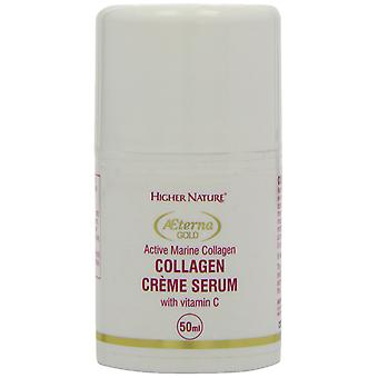 Höhere Natur Aeterna Gold Collagen Creme Serum, 50 ml
