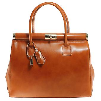 CTM stylish ladies genuine leather made in italy