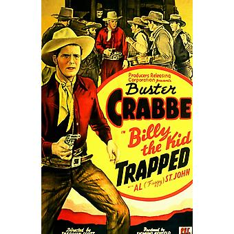 Billy the Kid Trapped Movie Poster (11 x 17)
