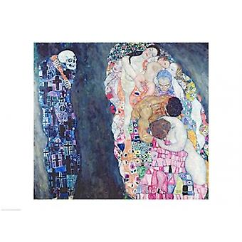 Death and Life Poster Print by Gustav Klimt (24 x 18)