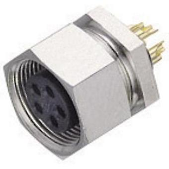 Binder 09-0078-00-03 711 Sub-micro Circular Connector Nominal current: 4 A Number of pins: 3