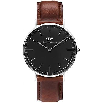 Watch Daniel Wellington St Mawes DW00100130 - Leather Brown man
