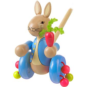 Orange Tree Toys Peter Rabbit Push Along