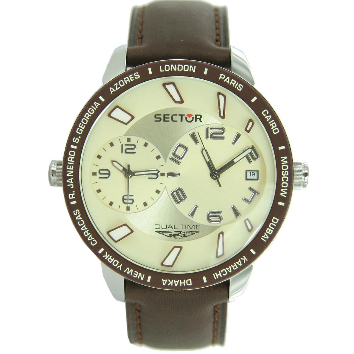 Sector men's watch wrist watch no limits dual time 400 - R3251119004