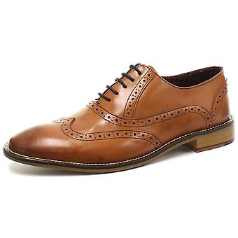 London Brogues George Oxford Mens Lace Up Brogue Shoes  AND COLOURS