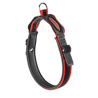 Ergocomfort C15 Padded Collar rosso 15 mm X 25-33 cm