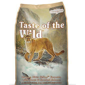 Smag af Wild Cat Canyon bækørred & røget laks 7kg