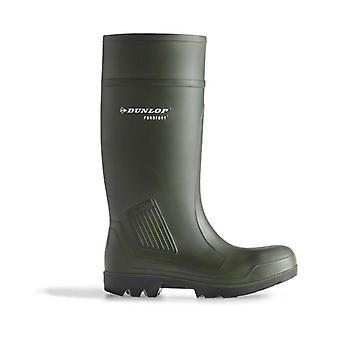 Dunlop D460933 Mens Purofort Pro Non Safety Plain Rubber Wellingtons PU Pull On