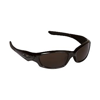 New SEEK Replacement Lenses - Oakley STRAIGHT JACKET Brown Silver Mirror