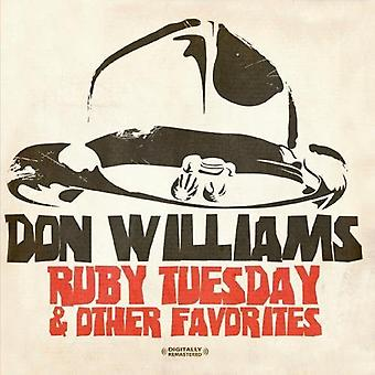 Don Williams - Ruby Tuesday & Other Favorites [CD] USA import