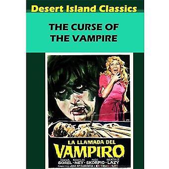 Vloek van Vampire [DVD] USA import