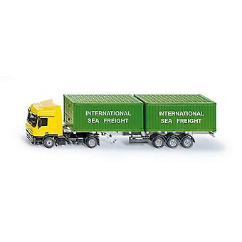 Siku Truck With Container  (Toys , Vehicles And Tracks , Mini Vehicles , Trucks)
