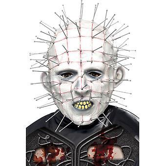 Masque horreur Hellraiser original de tête d'épingle d'ongle du visage
