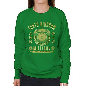 Earth Is Strong Avatar The Last Airbender Women's Sweatshirt