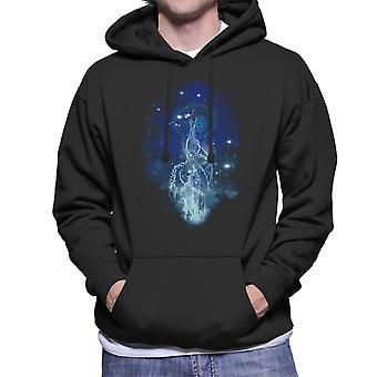 Firefly Dancing With Fireflies Men's Hooded Sweatshirt