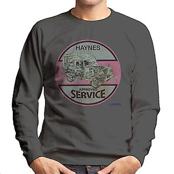 Haynes Land Rover Approved Service Men's Sweatshirt