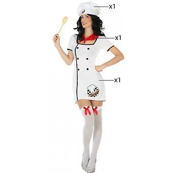 Kvinder kostumer Cook kok kostume til damer