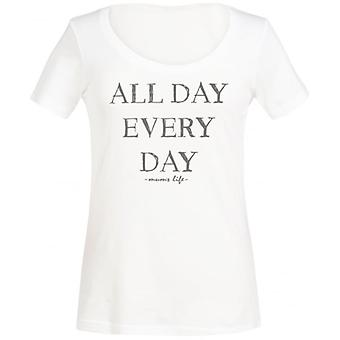 Spoilt Rotten All Day Every Day Scoop Neck Women's T-Shirt