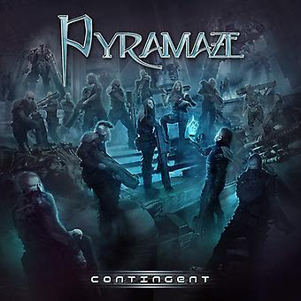 Pyramaze - kontingent [CD] USA importerer