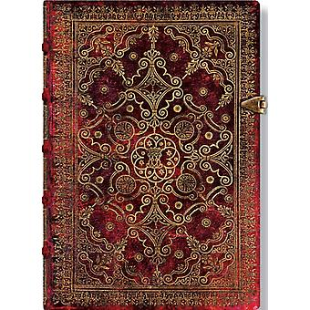 Carmine Midi Lined Journal (Equinoxe) (Stationery)