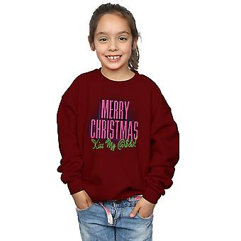 National Lampoon's Christmas Vacation Girls Kiss My Ass Sweatshirt