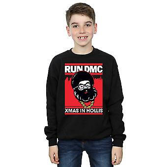Run DMC Boys Santa Christmas Sweatshirt
