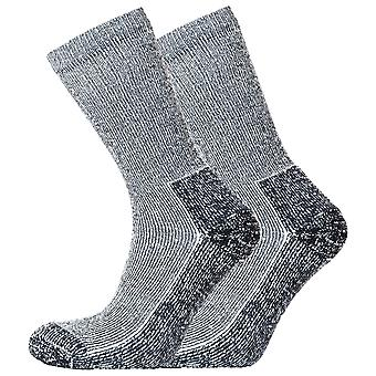 Heritage Unisex Coolmax Outdoor Ribbed Socks (Pack Of 2)