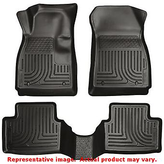 Husky Liners 98151 Black WeatherBeater Front & 2nd Seat FITS:BUICK 2011 - 2014