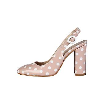 Made in Italia femmes pompes talons rose