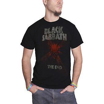 Black Sabbath T Shirt The End World Tour Mushroom Cloud new Official Mens Black