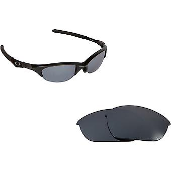 HALF JACKET Replacement Lenses Polarized Silver by SEEK fits OAKLEY Sunglasses