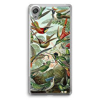 Sony Xperia XA1 Transparent Case - Haeckel Trochilidae
