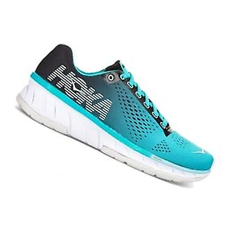 Cavu Womens Road Running Shoes Black/Bluebird