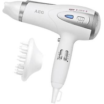 Hair dryer AEG HTD 5584 White, Silver