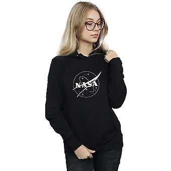 NASA Women's Classic Insignia Logo Monochrome Hoodie
