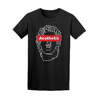 Vaporwave Aesthetic Graphic Tee Men's -Image by Shutterstock