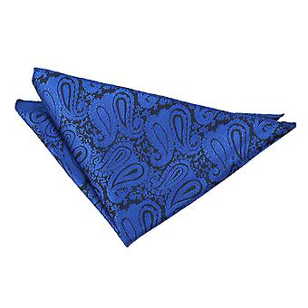 Fazzoletto da taschino Paisley blu Royal
