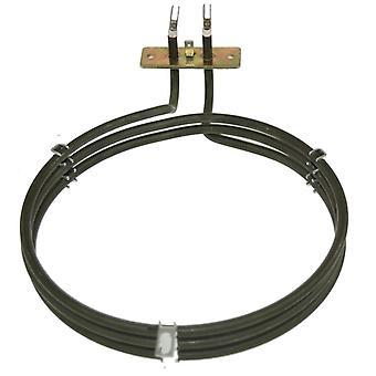 Zanussi substituição ventilador forno panela de aquecimento elemento (2500w) (3 voltas)
