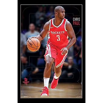 Houston Rockets - Chris Paul Poster Print