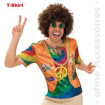 Traje de Señor traje hippie camisa hippie años 60 JahreShirt energía de la flor de los hombres