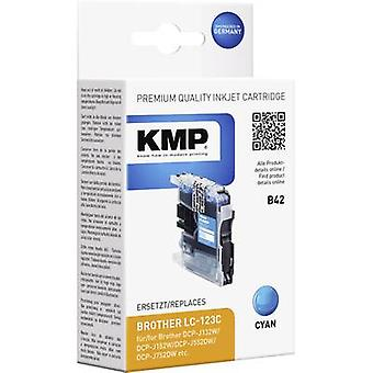 KMP Ink replaced Brother LC-123 Compatible Cyan B42 1525,0003