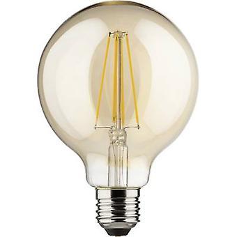 Müller Licht LED EWG A++ (A++ - E) E27 Globe 8 W = 66 W Gold (Ø x L) 95 mm x 140 mm dimmbar, Filament 1 PC