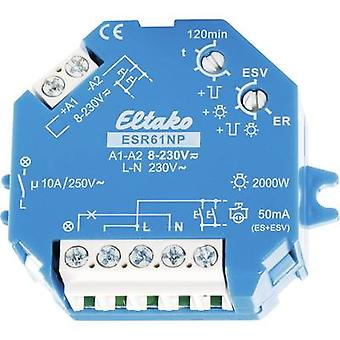 Impulse changeover switch Surface/flush mount 1 pc(s) Eltako ESR61NP 1 maker 230 Vdc, 230 V AC 10 A 2000 W