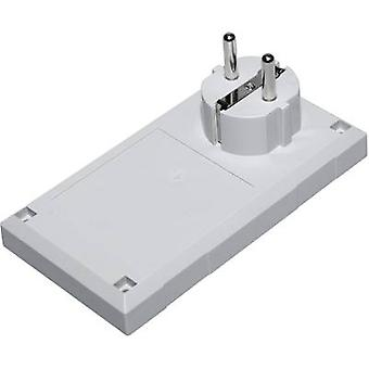 Connector housing 125 x 67 x 50 Polycarbonate (PC), Acrylonitrile butadiene styrene Light grey Conrad Components ESU 1200 E/CEE 1 pc(s)