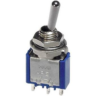APEM 5539A / 55390003 Toggle switch 250 V AC 3 A 1 x On/Off/On latch/0/latch 1 pc(s)